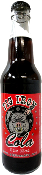Pig Iron Cola with Pure Cane Sugar Soda